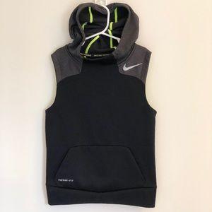 Nike Kids Sleeveless Hooded Sweatshirt